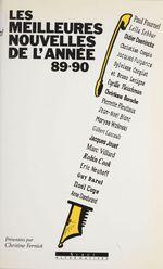 Vente Livre Numérique : Les meilleures nouvelles de l'année 89-90  - Jean-Noël Blanc - Alain Absire - Christiane Baroche