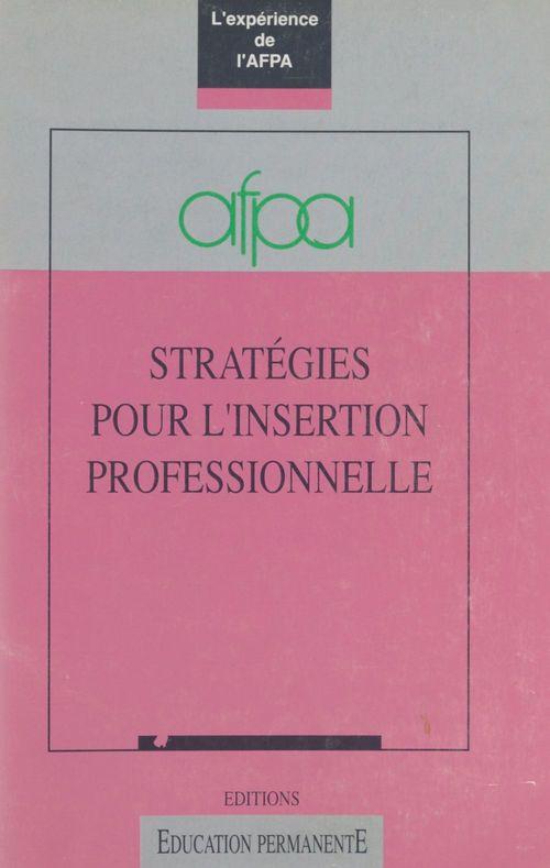 Strategies/insertion profes.