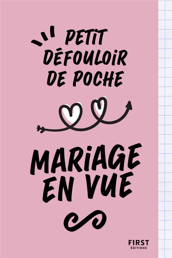 Petit défouloir de poche : mariage en vue