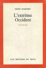 Vente Livre Numérique : L'Extrême-Occident  - Petru Dumitriu