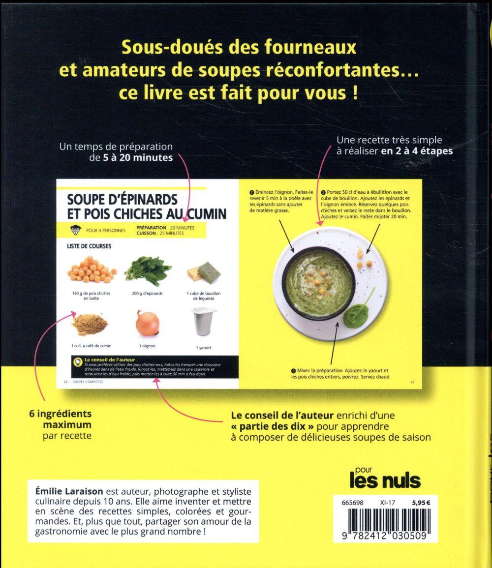 soupes et bouillons pour les nullissimes