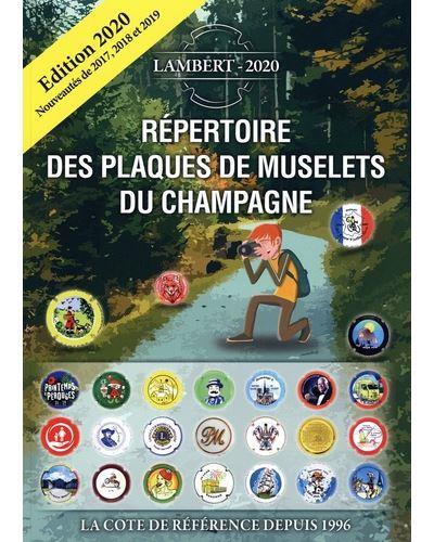 Répertoire des plaques de muselets du Champagne (édition 2020)