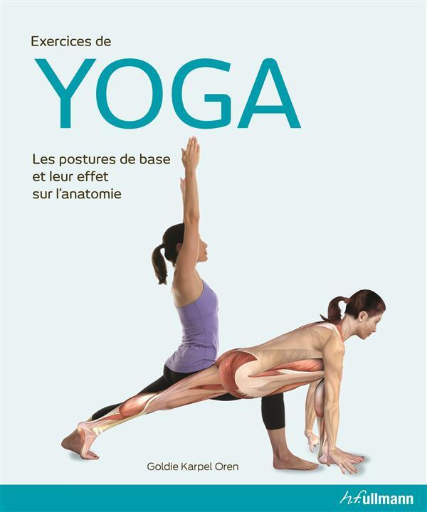 Exercices de yoga ; les postures de base et leur effet sur l'anatomie