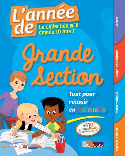 L'Annee De ; Grande Section ; Tout Pour Reussir (Edition 2017)