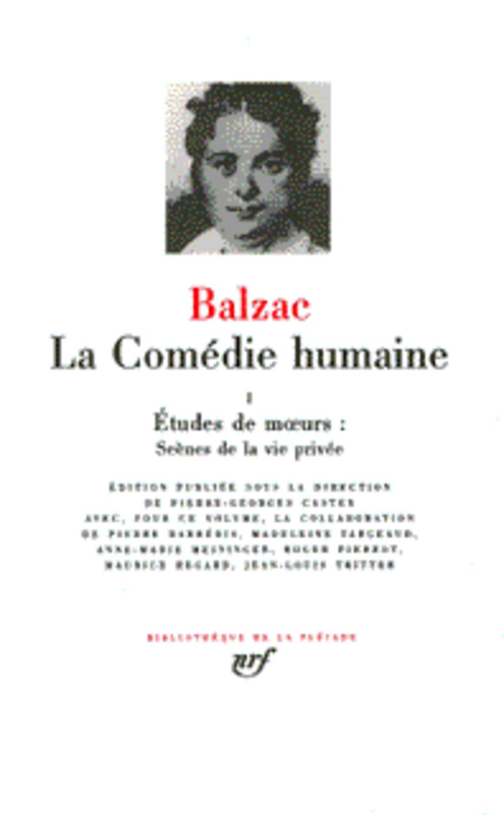 La comédie humaine t.1