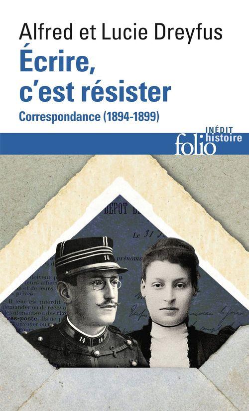 écrire, c'est résister ; correspondances, 1894-1899