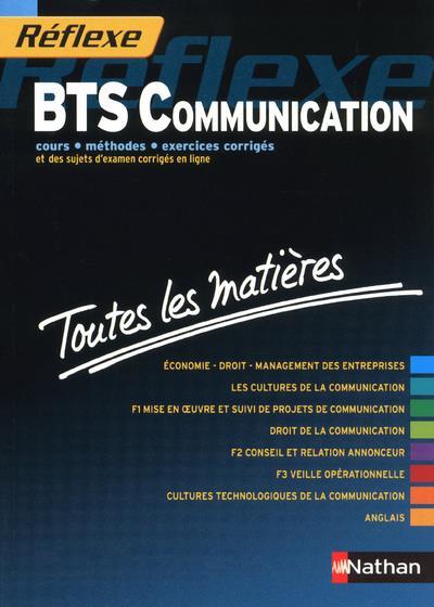 Reflexe Bts T.14 ; Bts Communication ; Toutes Les Matieres