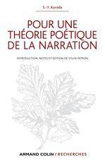 pour une théorie poétique de la narration