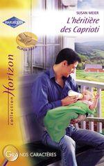 Vente EBooks : L'héritière des Caprioti (Harlequin Horizon)  - Susan Meier