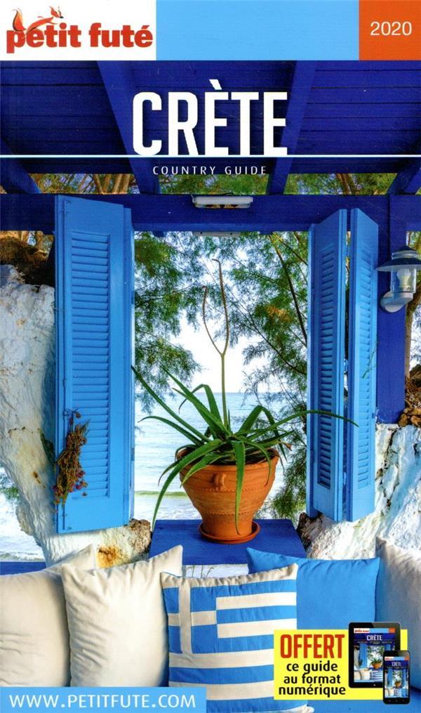GUIDE PETIT FUTE ; COUNTRY GUIDE ; Crète (édition 2020)