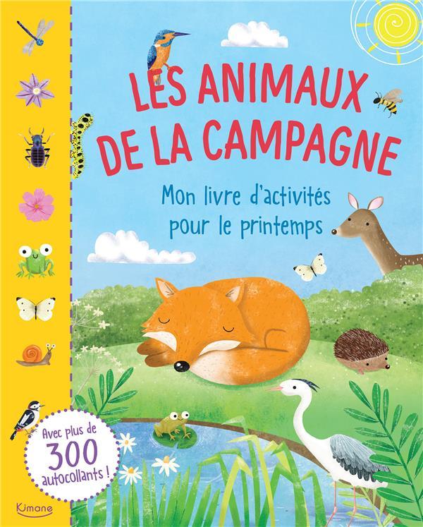 les animaux de la campagne ; mon livre d'activités pour le printemps