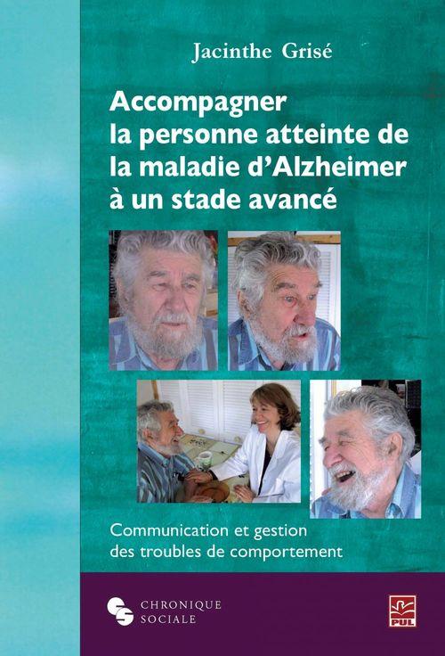 Accompagner la personne atteinte de la maladie d'Alzheimer