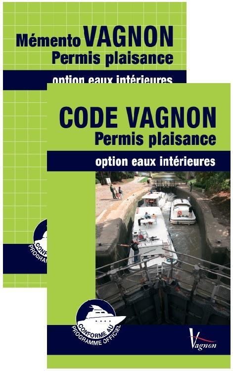 Code Vagnon ; permis plaisance ; option eaux intérieures