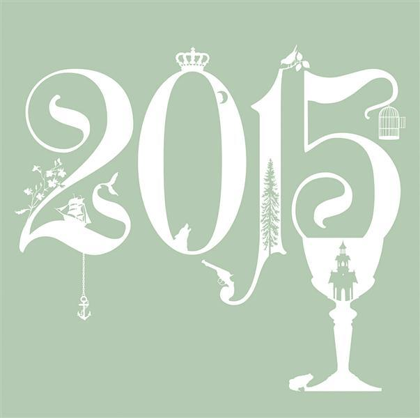 Précipitée ; calendrier mural 2015