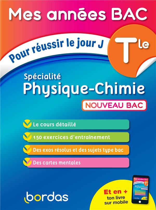 Spécialité physique-chimie ; terminale (édition 2020)
