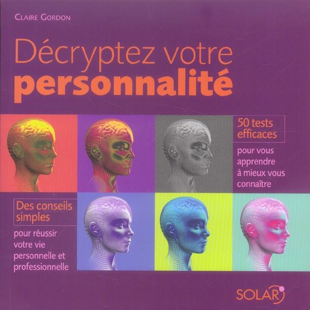 Decrypter votre personnalite