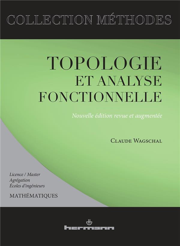 Topologie et analyse fonctionnelle
