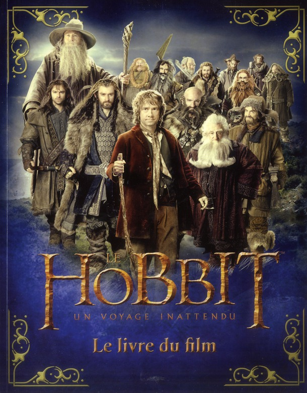 Le Hobbit ; un voyage inattendu ; le livre du film