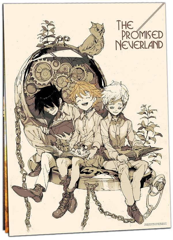 The promised Neverland ; calendrier (édition 2020)