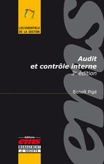 Vente EBooks : Audit et contrôle interne  - Benoît Pigé