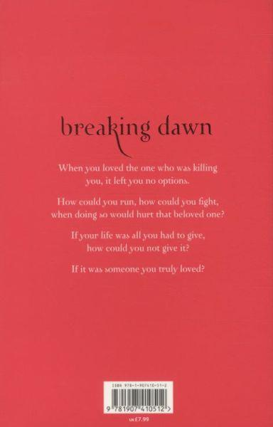 Breaking Dawn ; White Cover