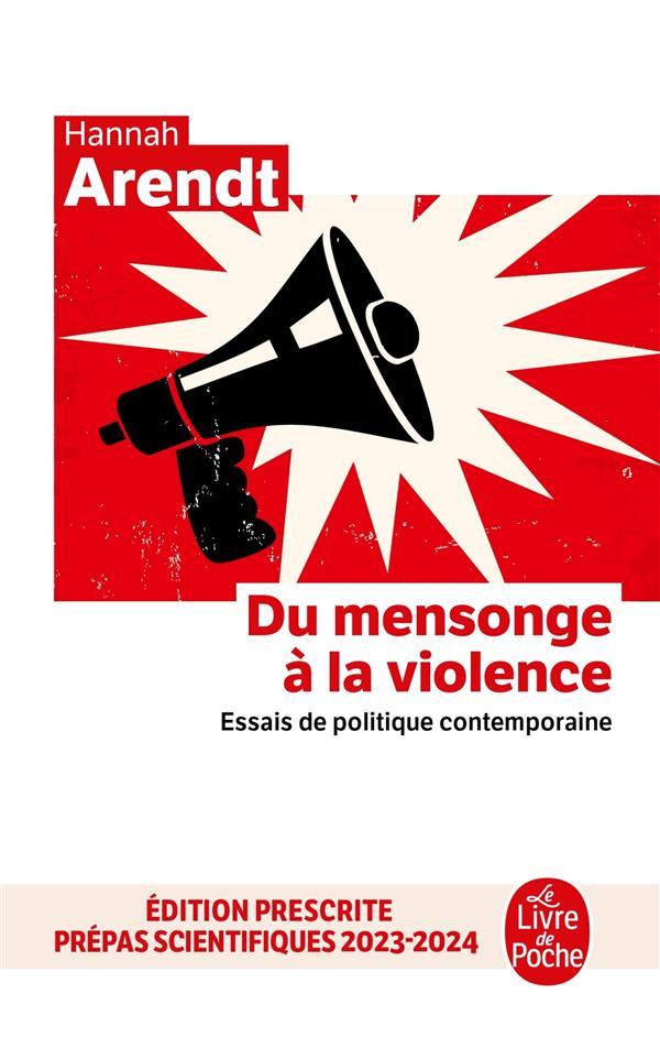 Du mensonge à la violence ; essais de politique contemporaine