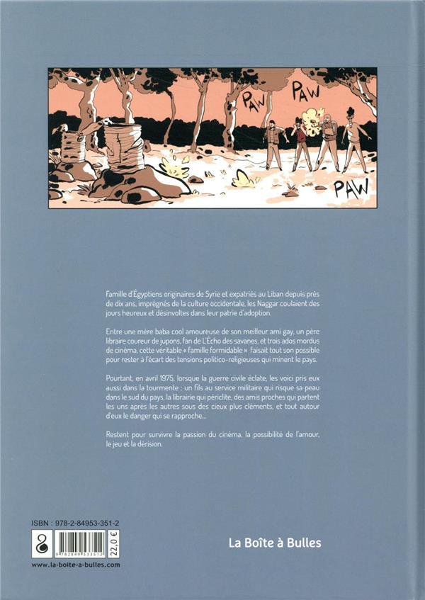 La guerre des autres t.2 ; couvre-feu sur Beyrouth