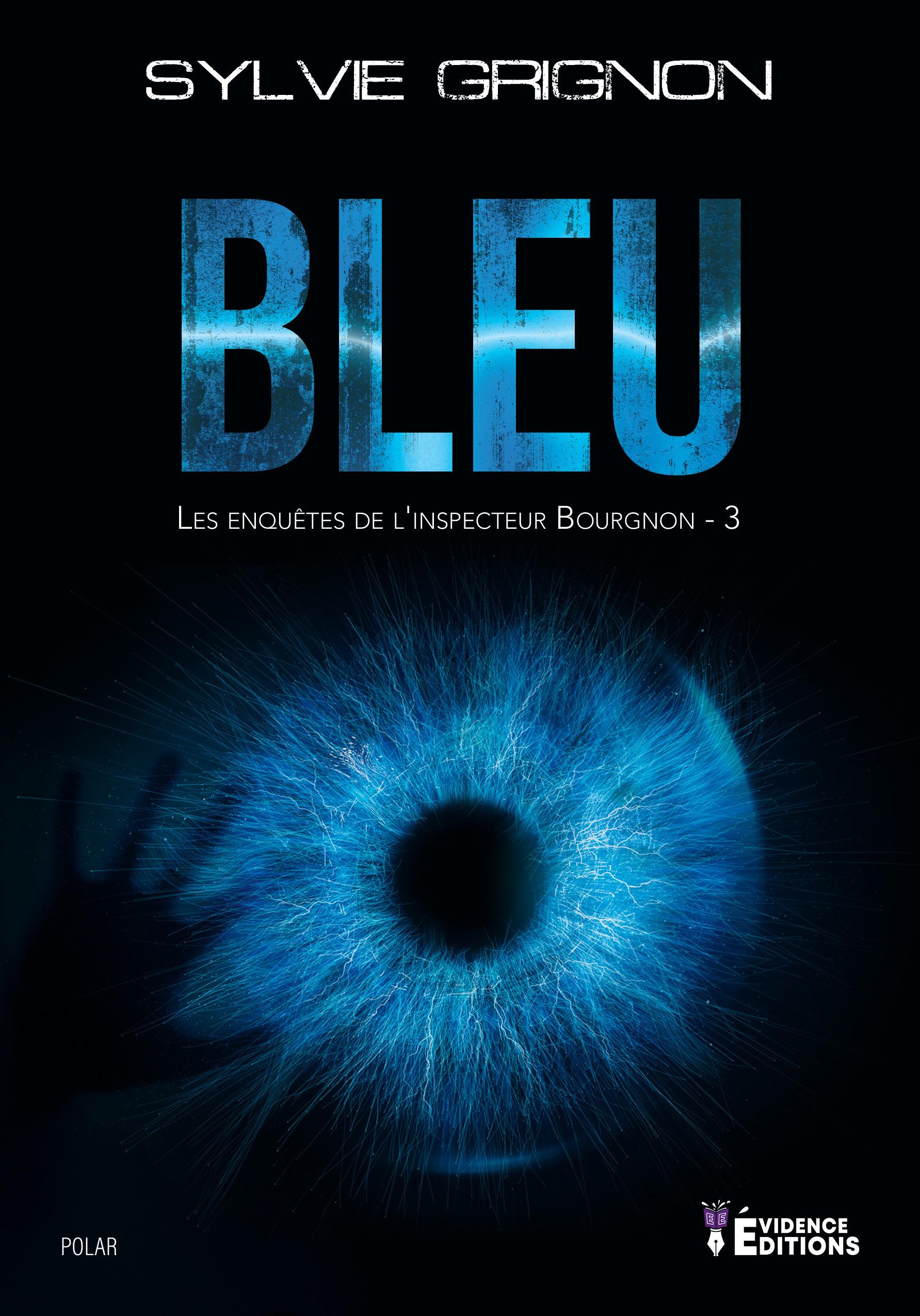 Bleu - les enquetes de l'inspecteur bourgnon - 3