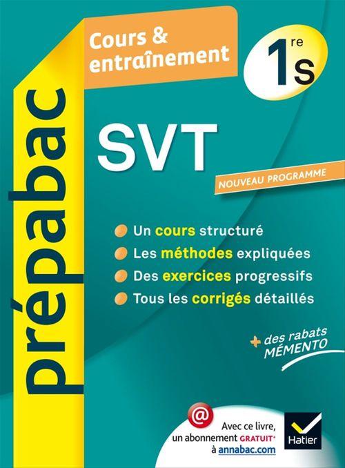 SVT 1re S - Prépabac Cours & entraînement