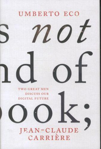 This is not the End of the Book