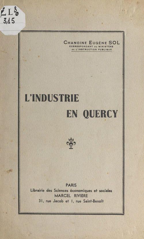 L'industrie en Quercy