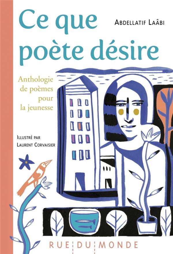 Ce que poete desire - anthologie de poemes pour la jeunesse