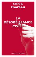 La désobeissance civile