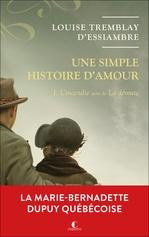 Vente EBooks : Une simple histoire d'amour t.1  - Louise Tremblay d'Essiambre