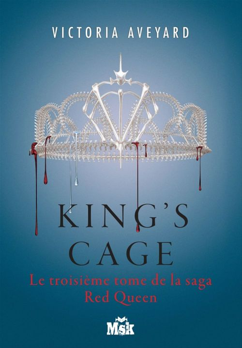 Red Queen T.3 ; king's cage