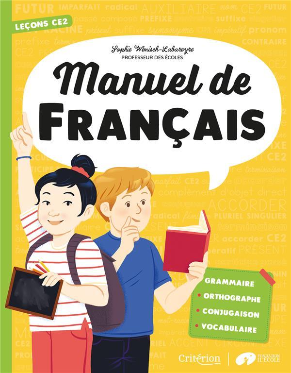 Manuel de français ; CE2 ; leçons