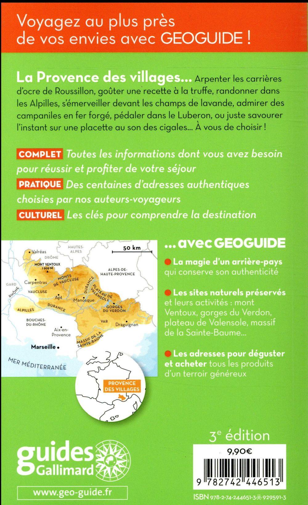 GEOguide ; Provence des villages
