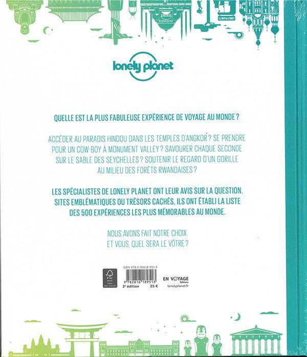 Où partir ? le top 500 de Lonely Planet (2e édition)