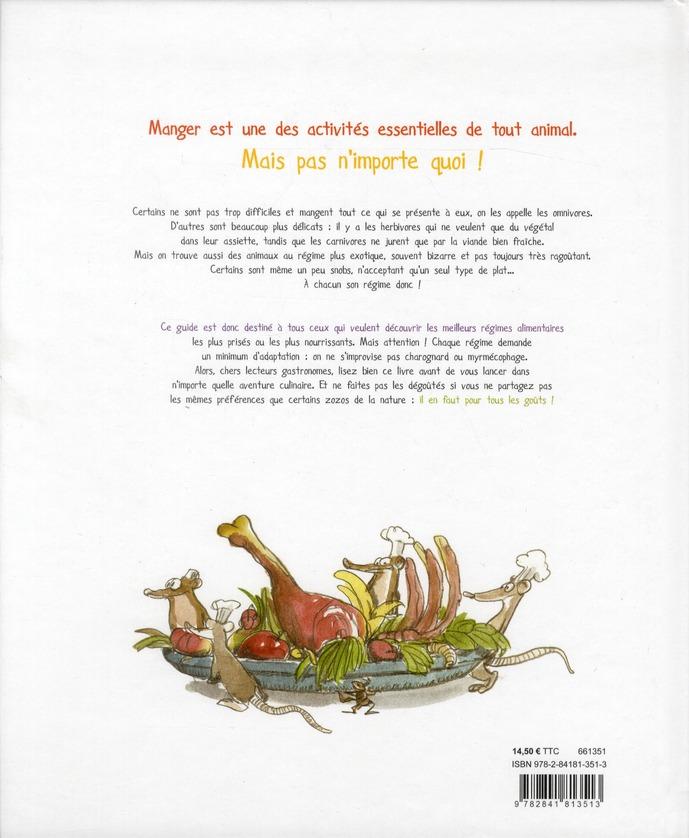 Resto-zoo ; le guide gastronomique des animaux
