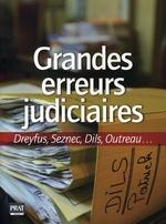 Couverture de Grandes erreurs judiciaires