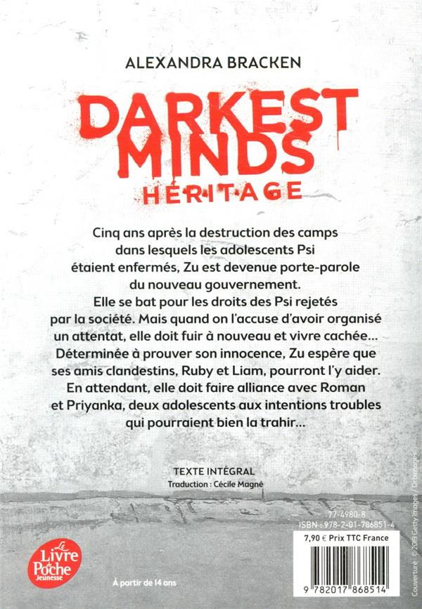 Darkest minds T.4 ; héritage