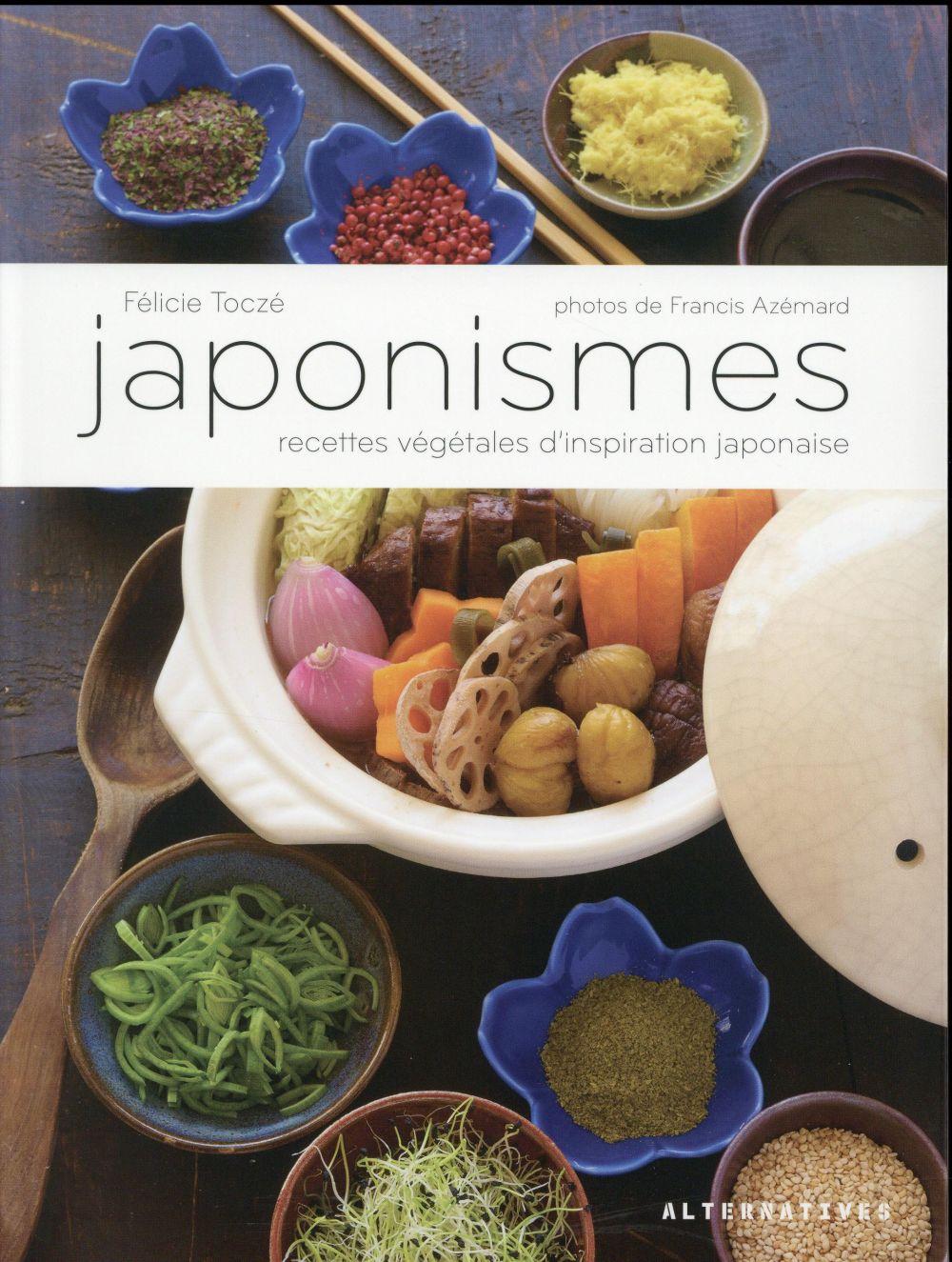 Japonismes - recettes vegetales d'inspiration japonaise