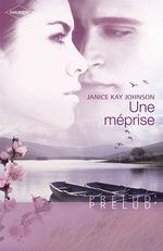Vente EBooks : Une méprise (Harlequin Prélud')  - Janice Kay Johnson