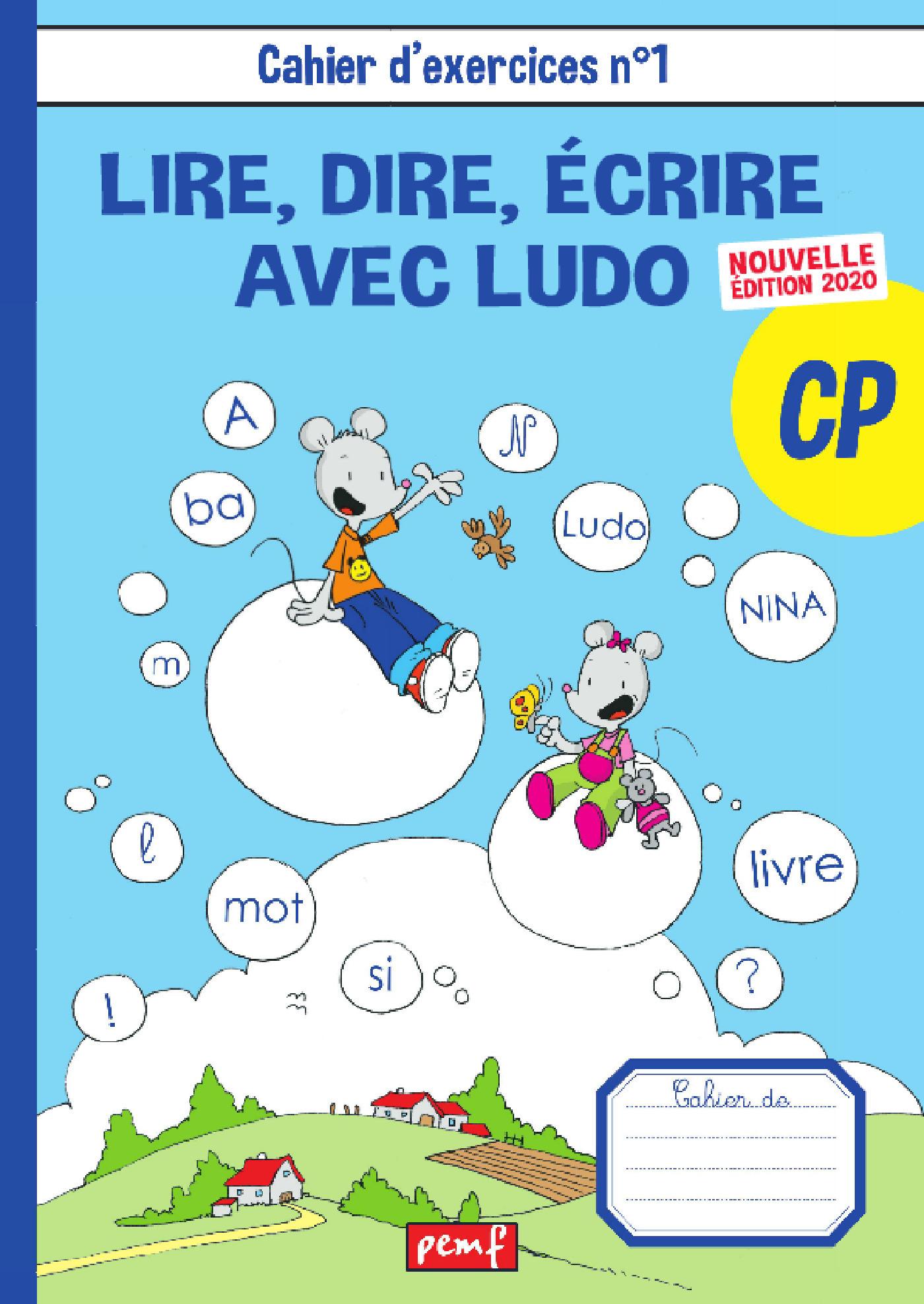 Cahiers de l'élève n°1 - Méthode de lecture Ludo édition 2020