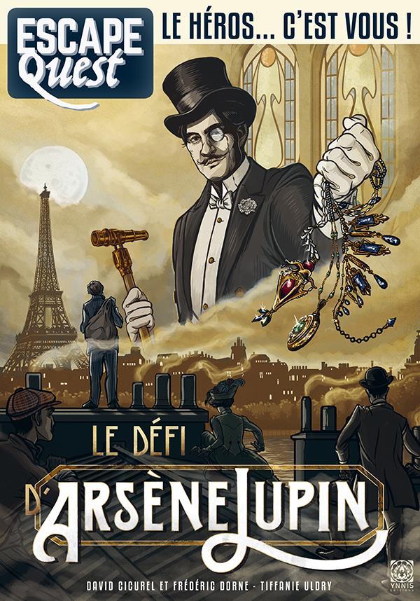 escape quest t.4 ; le secret d'Arsène Lupin