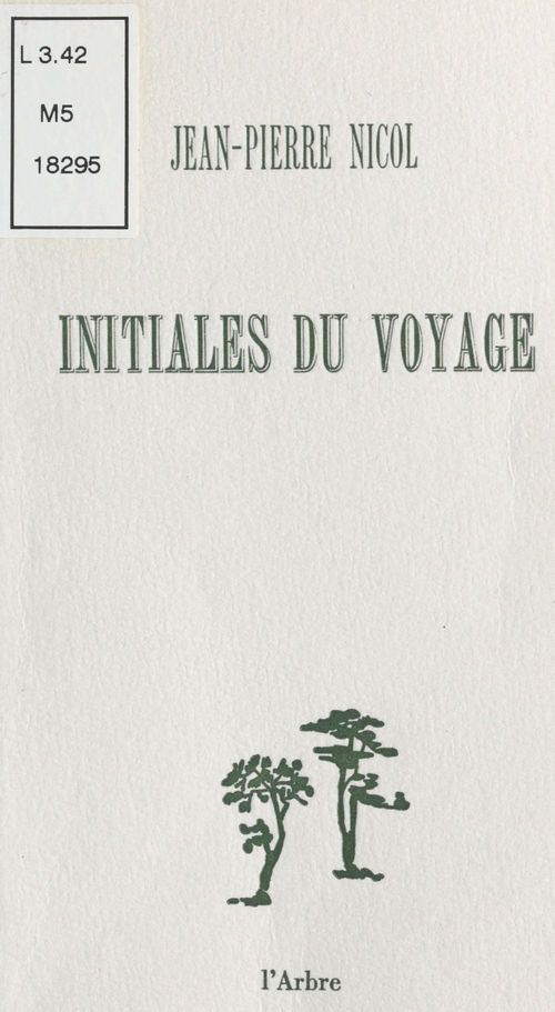 Initiales du voyage