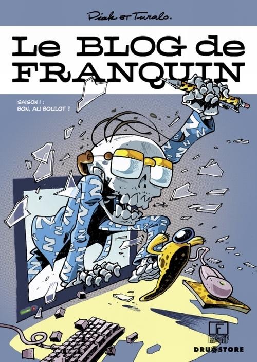 Le blog de Franquin t.1 ; bon, au boulot !