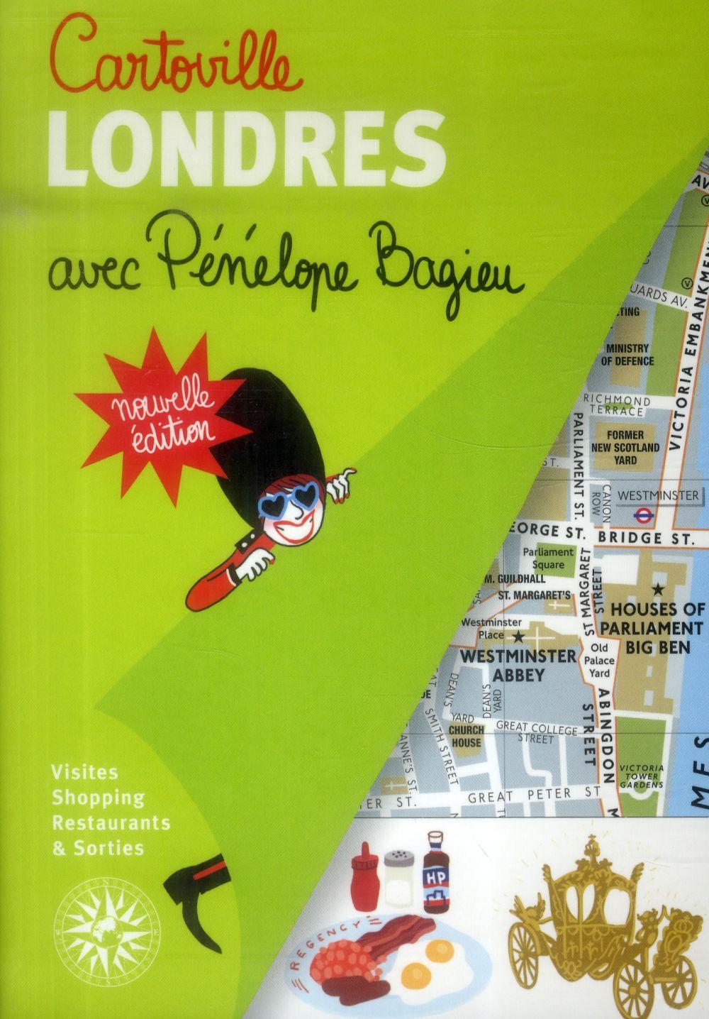 Londres avec Pénélope Bagieu