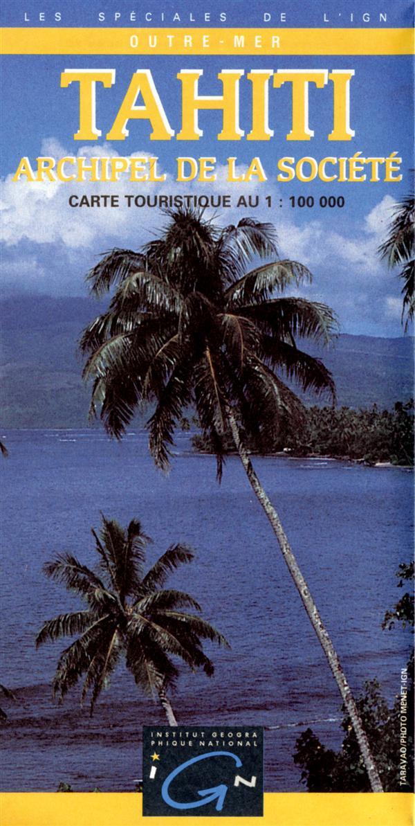 Tahiti ; Archipel de la société