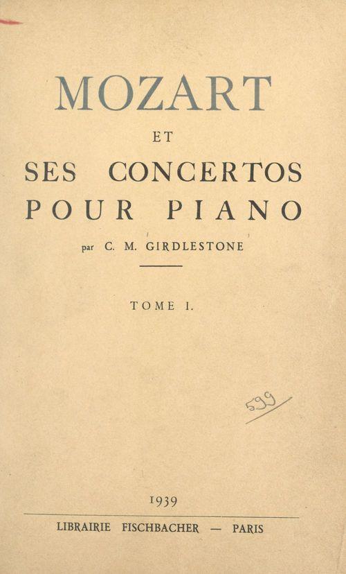 Mozart et ses concertos pour piano (1)